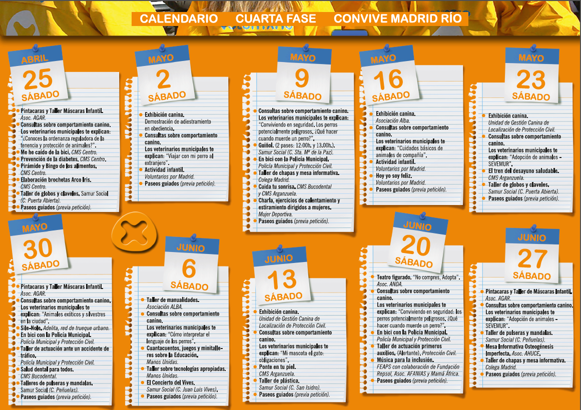 COMIENZA LA CUARTA FASE DE CONVIVE MADRID RIO - el blog de Alba Online
