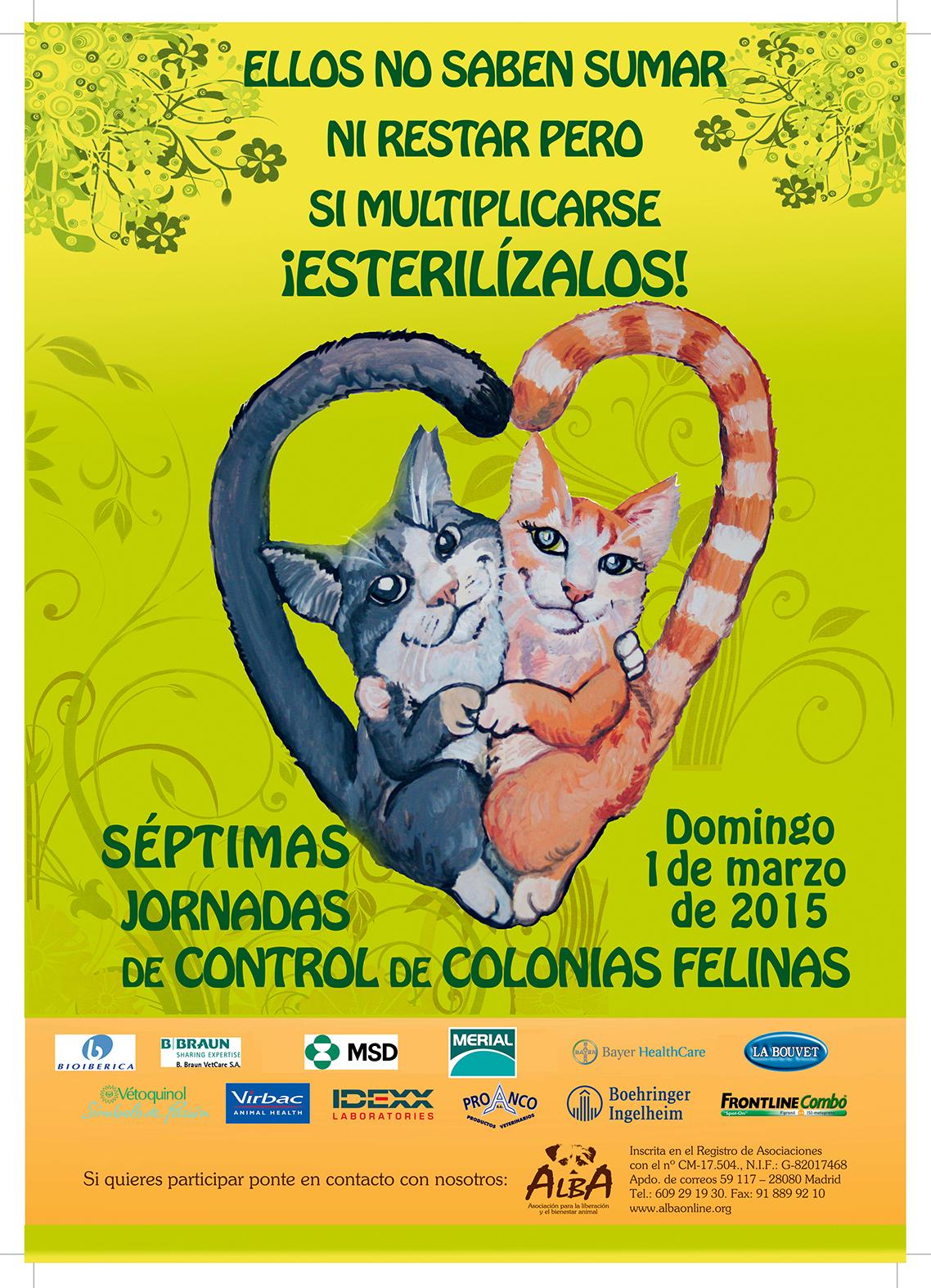 VII Jornadas de Castración felina enALBA
