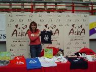 ALBA-Infostand auf internationaler Katzenausstellung