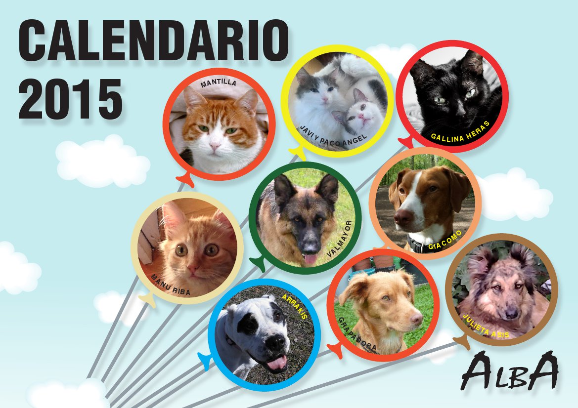 Hurra – der ALBA-Kalender 2015 ist da!