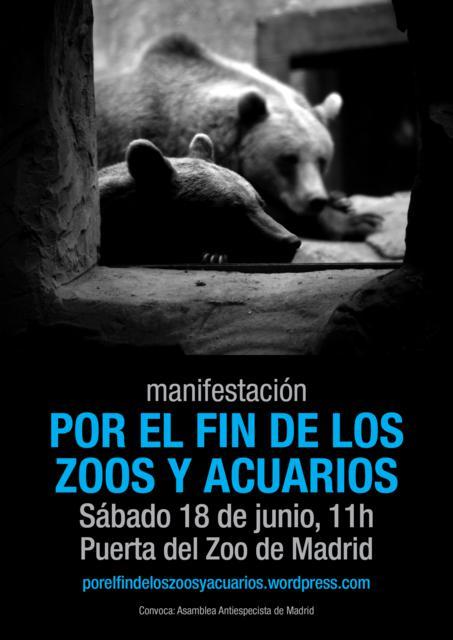 Campaña contra el Zoo-Acuario de Madrid