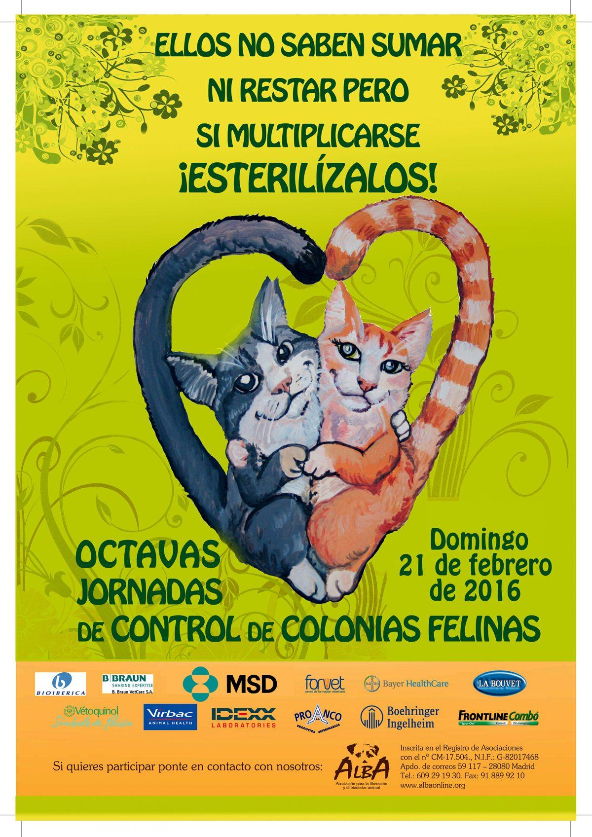 VIII Jornadas de Castración felina en ALBA